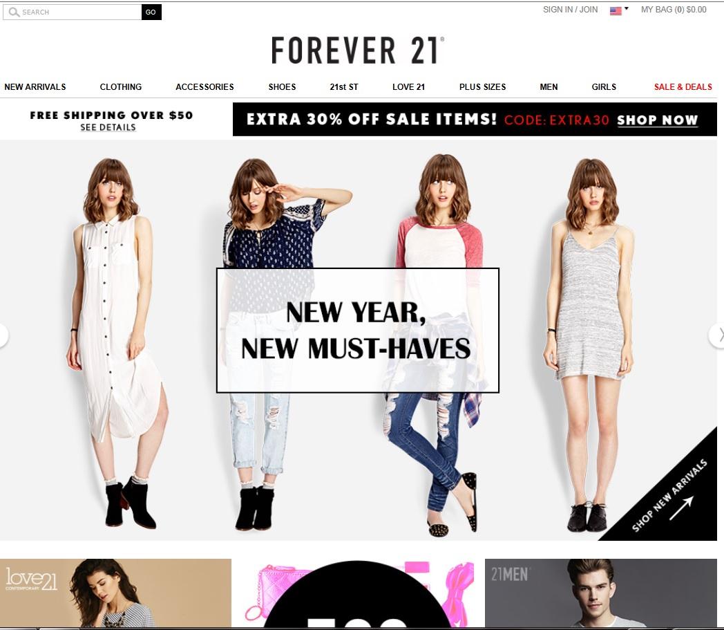 Froever21.com