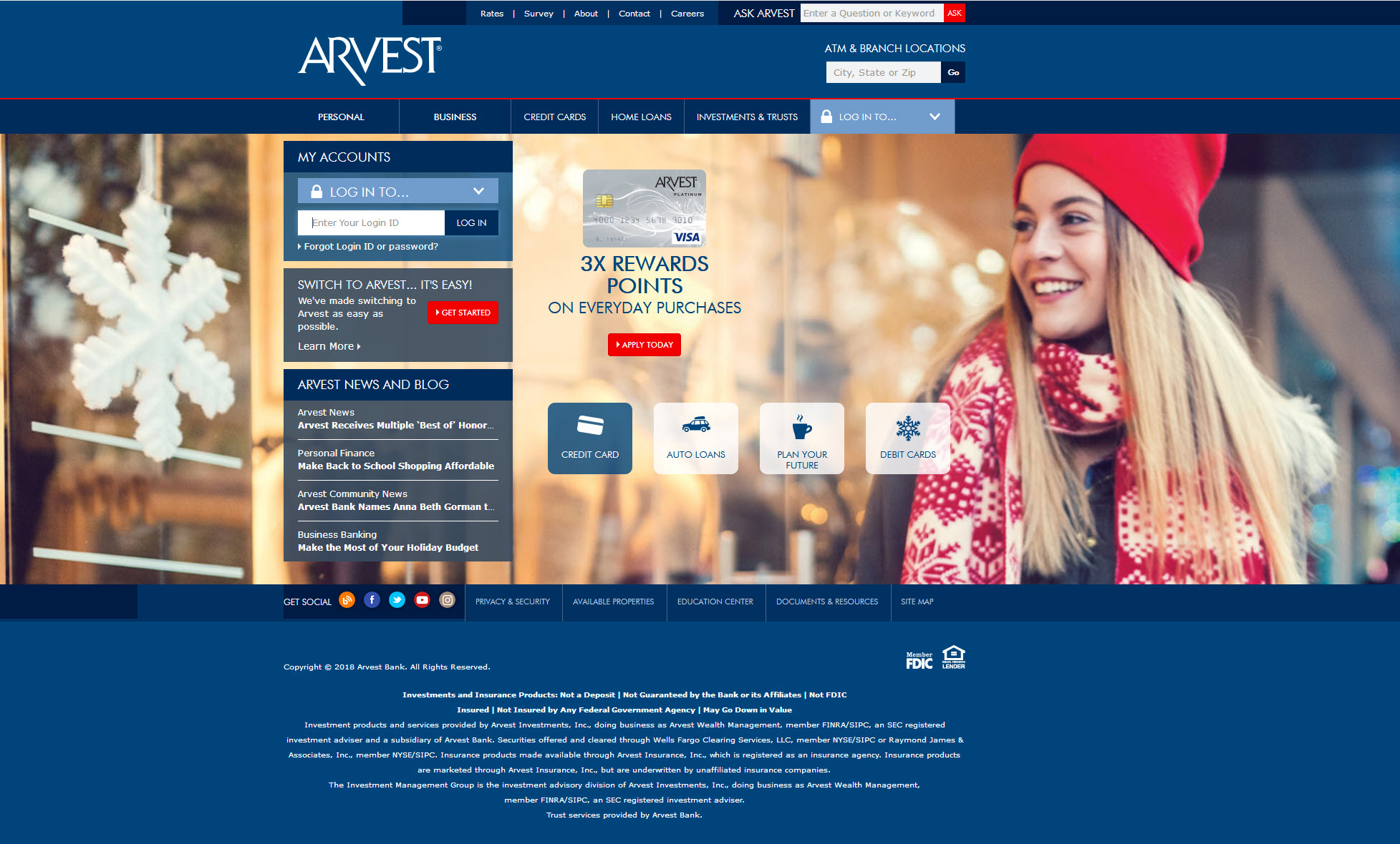 Arvest and IO work together to implement web analytics