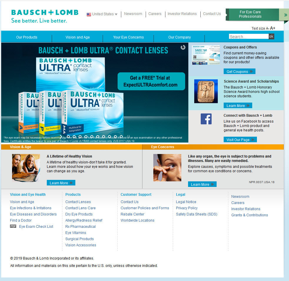 Bausch and Lomb partner with IO on multi-country initiative