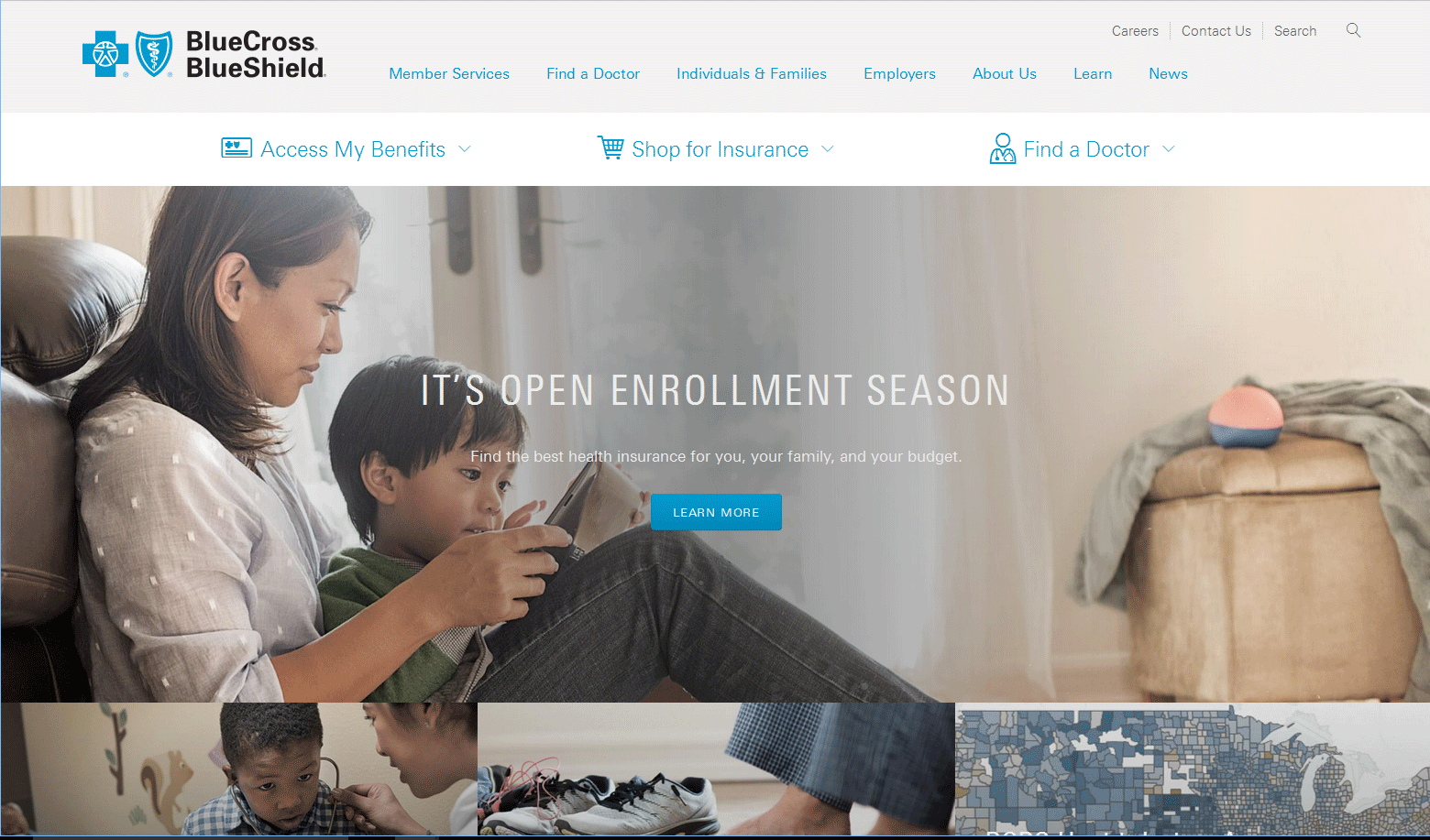 IO helps Blue Cross Blue Shield with Portal Redesign