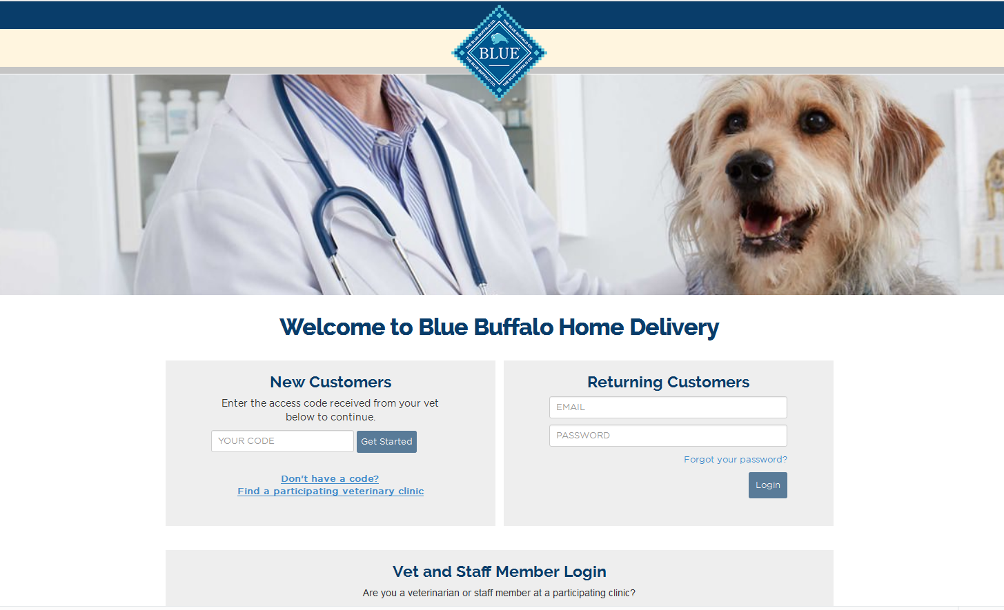 IO helps Blue Buffalo Deliver Multi-Channel Vet Solution