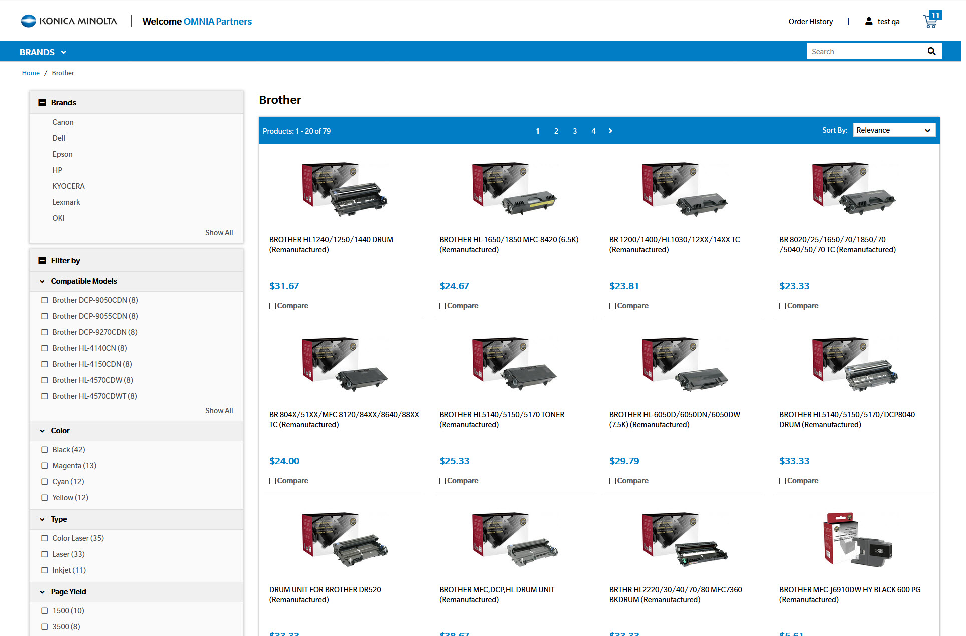 Konica Minolta relies on IO to deliver new commerce website